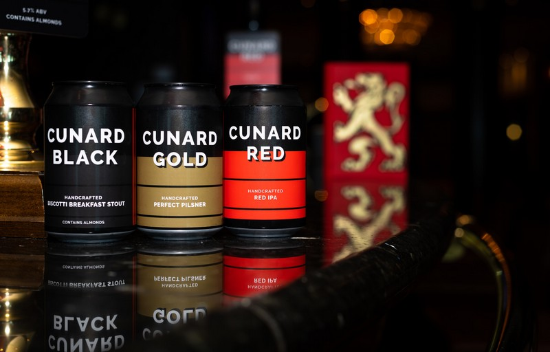 Cunard and Award-Winning Microbrewery Create Exclusive Stout, IPA and Pilsner for Guests Onboard