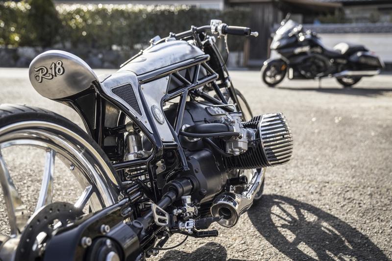 Custom Works Zon _The departed-Custom Motorcycle-2018-