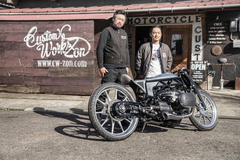 Custom Works Zon _The departed-Custom Motorcycle-2018