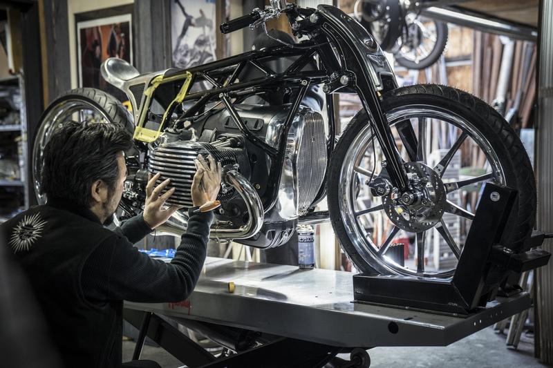 Custom Works Zon The departed Custom Motorcycle
