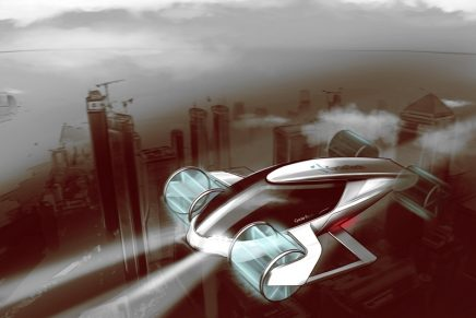 Cyclogyro – a potential four-seater air taxi with the most agile propulsion system in aviation