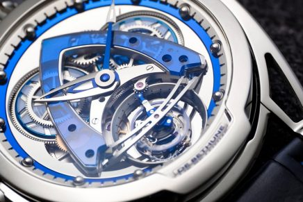 DB28 Steel Wheels Sapphire Tourbillon is now for the first time equipped with a tourbillon
