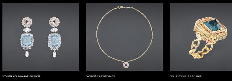 DIOR À VERSAILLES, PIÈCES SECRÈTES CACHETTE DIAMANT RING - Volupte Rings, Earrings, Necklace