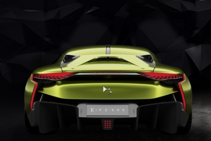 DS E-Tense silently produces 516Nm of torque, 402hp and zero emissions