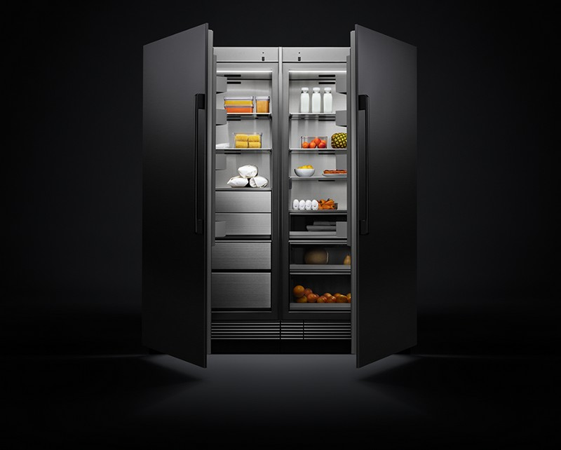 Dacor Modernist Refrigeration - Combining stunning design with visionary performance, the Modernist Refrigerator is designed to transform the kitchen into a stage for imagination, experimentation and play