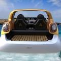 Daimler's first amphibious vehicle - smart forsea concept car