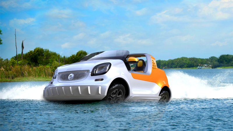 smart to launch the fascinating forsea concept car: Finding Nemo