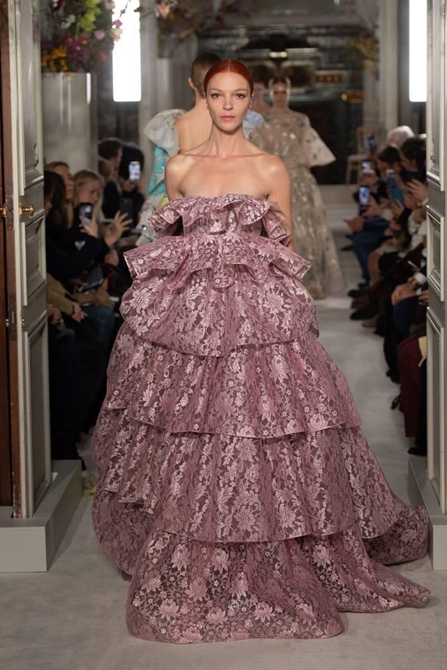 Dalia Rosa look - Valentino Haute Couture SS 2019