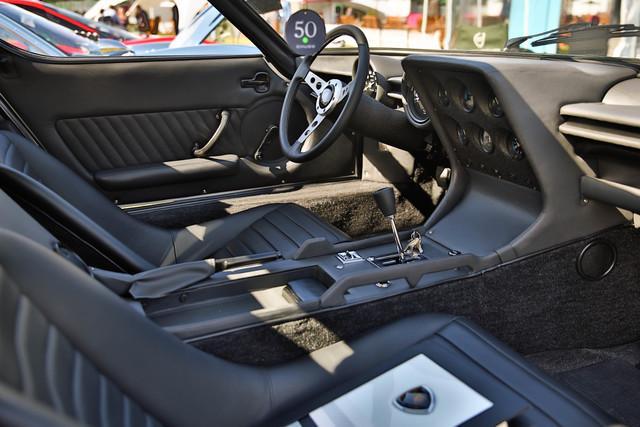 Dallara's Polo Storico-Restored Miura Won at UK's Salon Prive - interior