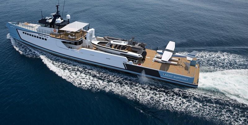 Damen Powerplay support yacht-