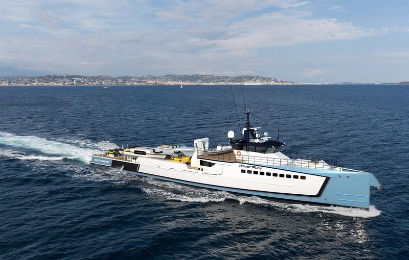 Damen Powerplay support yacht--