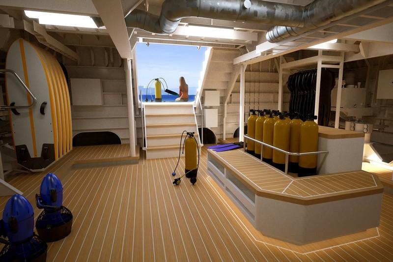 Damen Powerplay support yacht-vessel