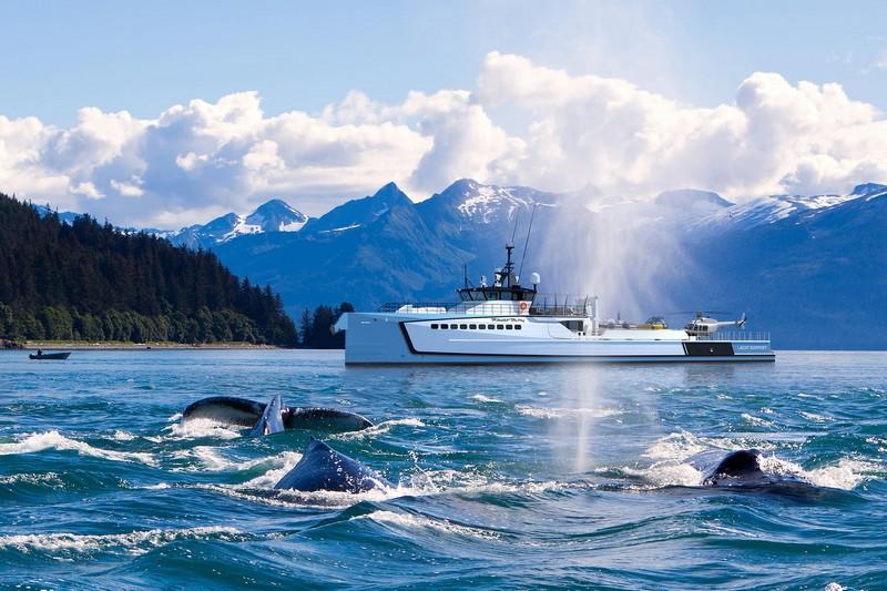 Damen Powerplay support yacht