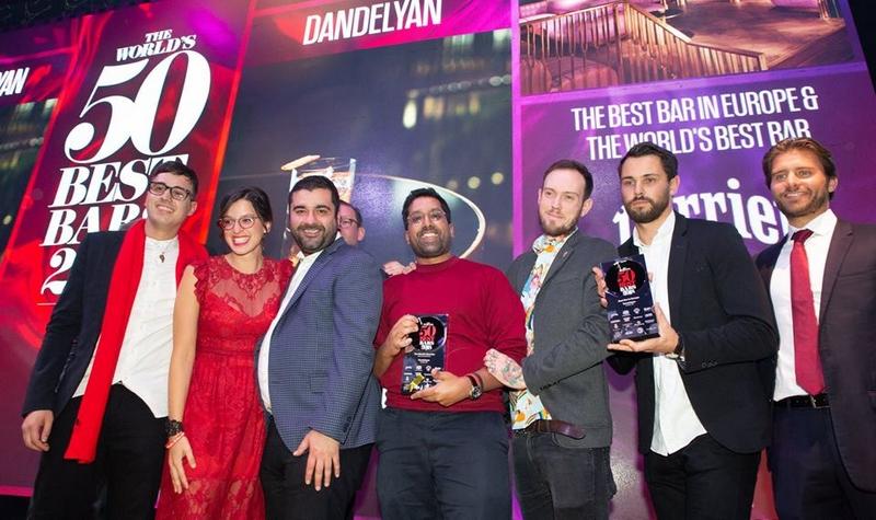 Dandelyan, The World's Best Bar 2018