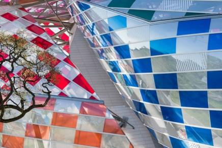 #ObservatoryofLight: Daniel Buren's color is taking over Fondation Louis Vuitton