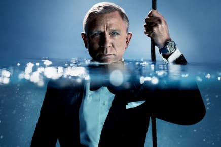 Daniel Craig – the obvious choice for the new limited-edition Omega Seamaster Diver 300M