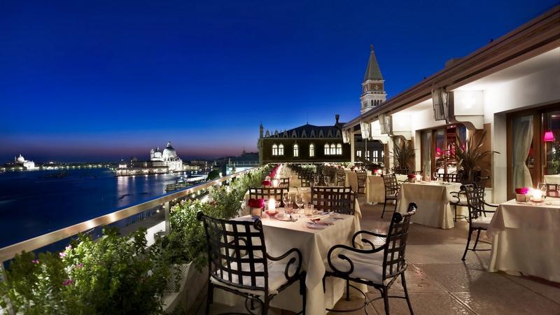 Danieli rooftop restaurant