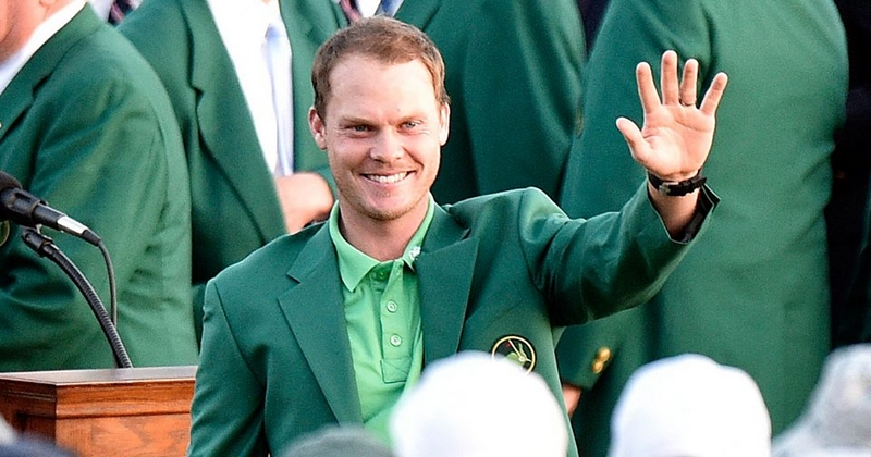 Danny Willett in his green jacket after becoming the 2016 Masters champion