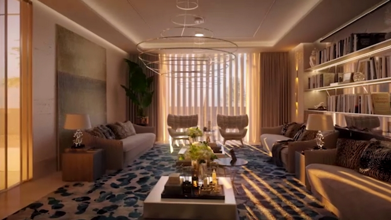 Dar Al Arkan Mirabilia interiors