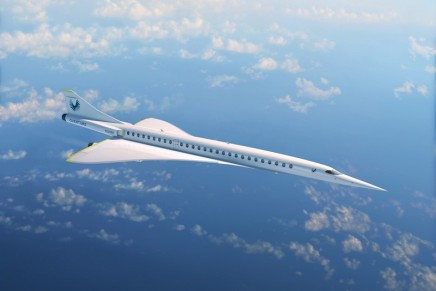Dassault Systèmes x Boom Supersonic to Reinvent the Sky with Overture – the Mach-2.2 airliner