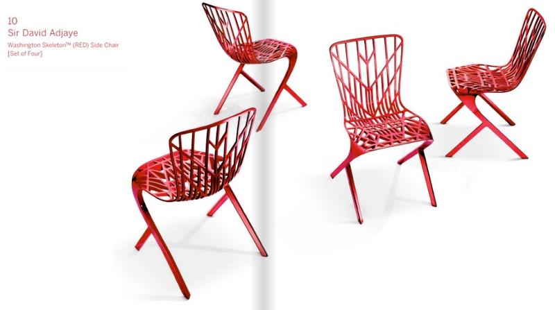 David Adjaye RED Chairs