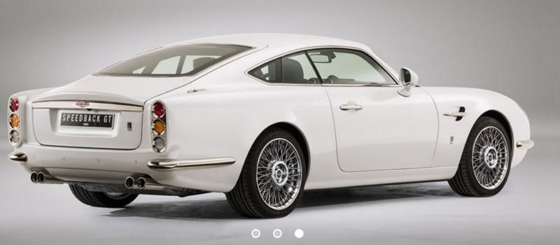 David Brown Speedback GT-rear
