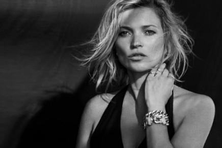 Enduring Style. Kate Moss returns as the face of David Yurman