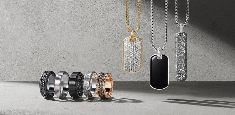 David Yurman Jewelry for Him