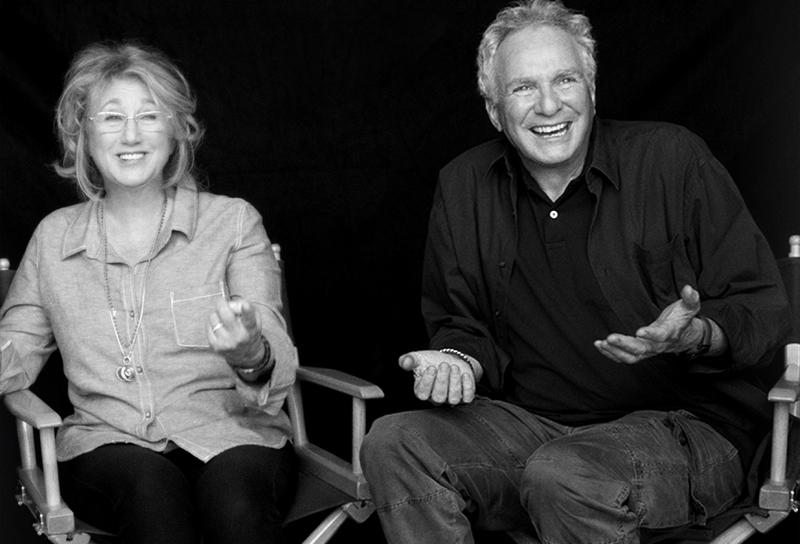 David and Sybil Yurman, shot by Peter Lindbergh