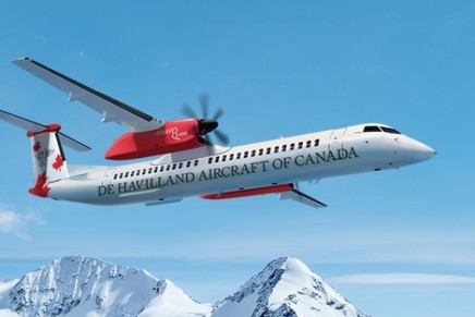 One of Canada's most iconic aircraft brands delivers first Dash 8-400 aircraft