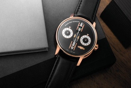 De Witt's new Academia Endless Drive watch serves as an allegory for time itself