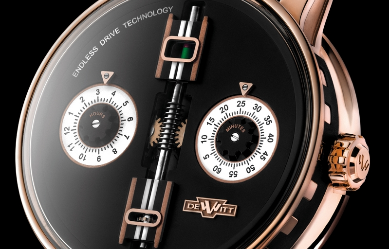 De Witt's new Academia Endless Drive watch serves as an allegory for time itself - SIHH 2018-photos