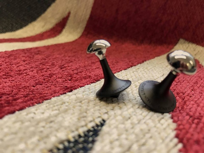 Deakin & Francis Fundamentals - Spinning cufflinks