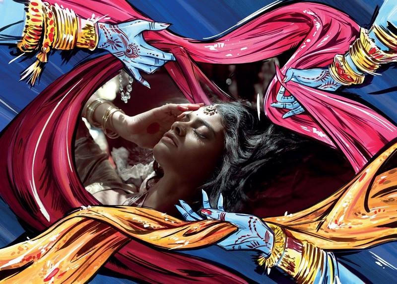 Deep Sleep for Beauty Christian Louboutin x Sabyasachi
