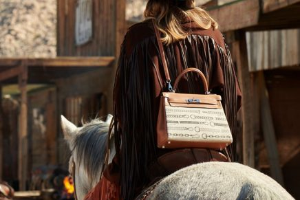 Deep in the Wild West, Hermès Kelly unleashes passions