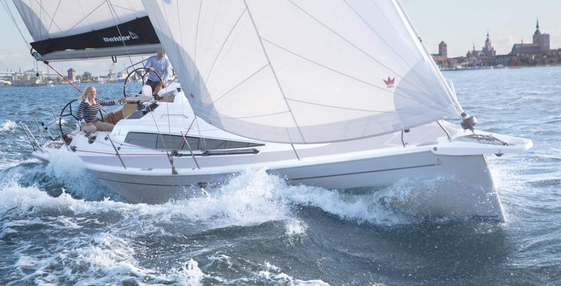 Dehler 34 sailing yacht - boot