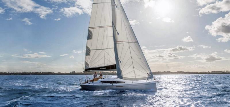 Dehler 34 sailing yacht