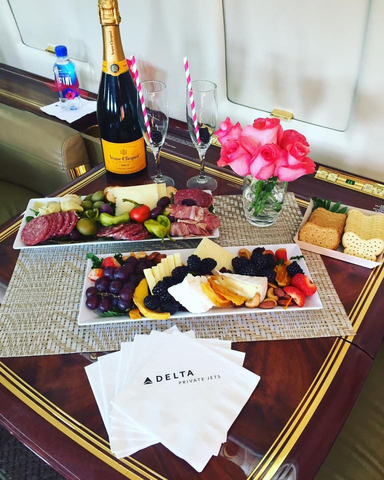 Delta Private Jets - luxury travel