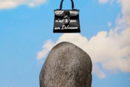 Delvaux brings Belgian surrealism and Delvaux whimsy to Italy's capital of fashion