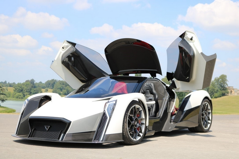 Dendrobium D-1 electric-hypercar moving towards production