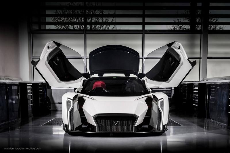 Dendrobium-supercar by Singapore's Dendrobium Motors-
