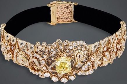 Ethereal lightness: Dior Dior Dior High Jewelry captures the haute couture signature of lace