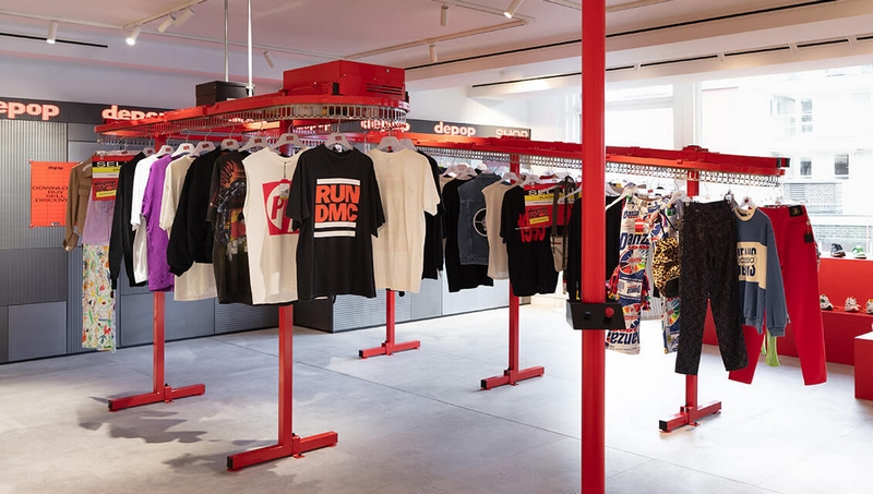 Depop Space Selfridges pop-up is reimagining what shopping and style might look like in response to the climate emergency