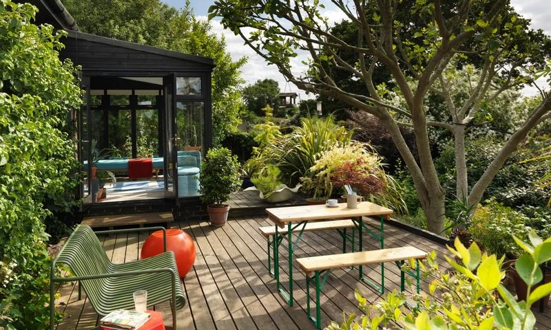 Design aficionado Thorsten van Elten has turned a 70s bungalow in East Sussex into a playful home
