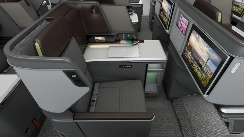 BMW Designworks partnered with EVA Air-BMW Designworks Business ClassCabin