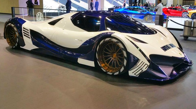 Devel Sixteen production version introduced at Dubai Motor Show