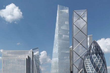 City of London's third tallest skyscraper, The Diamond, revealed