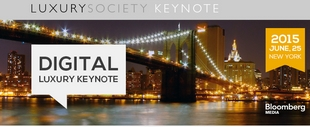 Digital Luxury Keynote New York City 2015