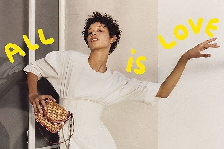 Dilone for Stella McCartney Spring Summer 2017 campaign