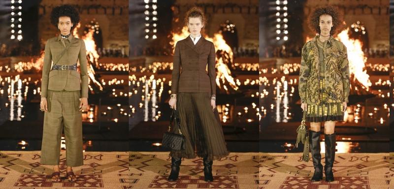 Dior 2020 Cruise at El Badi Palace - Silhouettes-